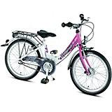 PUKY Fahrrad Skyride 20 Zoll, weiß-pink
