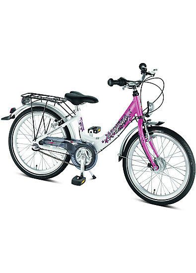 puky fahrrad skyride 20 zoll wei pink puky mytoys. Black Bedroom Furniture Sets. Home Design Ideas