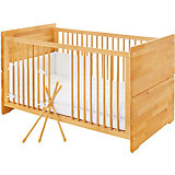 Kinderbett NATURA, Buche vollmassiv, geölt, 70 x 140 cm