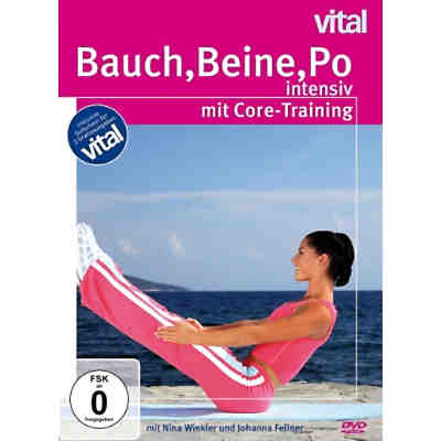 DVD Bauch-Beine-Po Intensiv Mit Core-Training