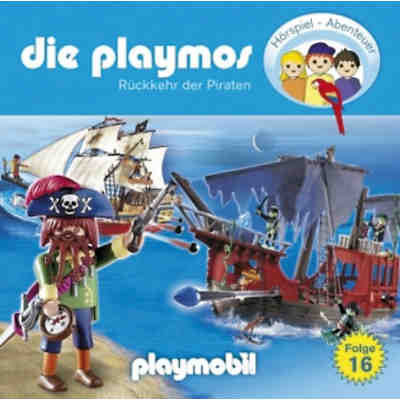 Die Playmos: Piraten, Audio-CD