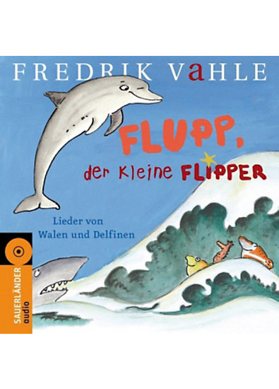 flupp der kleine flipper audio cd fredrik vahle mytoys. Black Bedroom Furniture Sets. Home Design Ideas