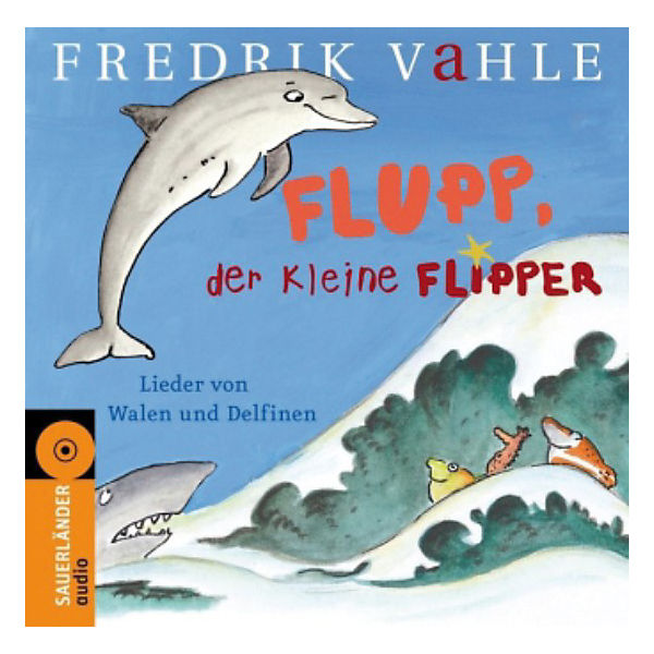 Flupp, der kleine Flipper, Audio-CD