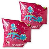 SPEEDO SEA SQUAD BLUE ARMBANDS für Mädchen, rot
