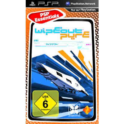 PSP WipeOut Pure - Essentials