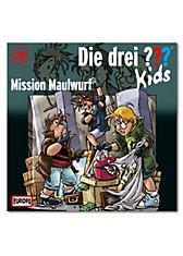 CD Die drei ??? Kids 18 - Mission Maulwurf