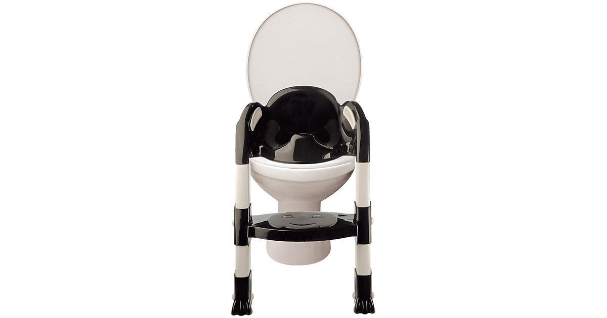 Toilettentrainer Kiddyloo, schwarz/weiß mehrfarbig