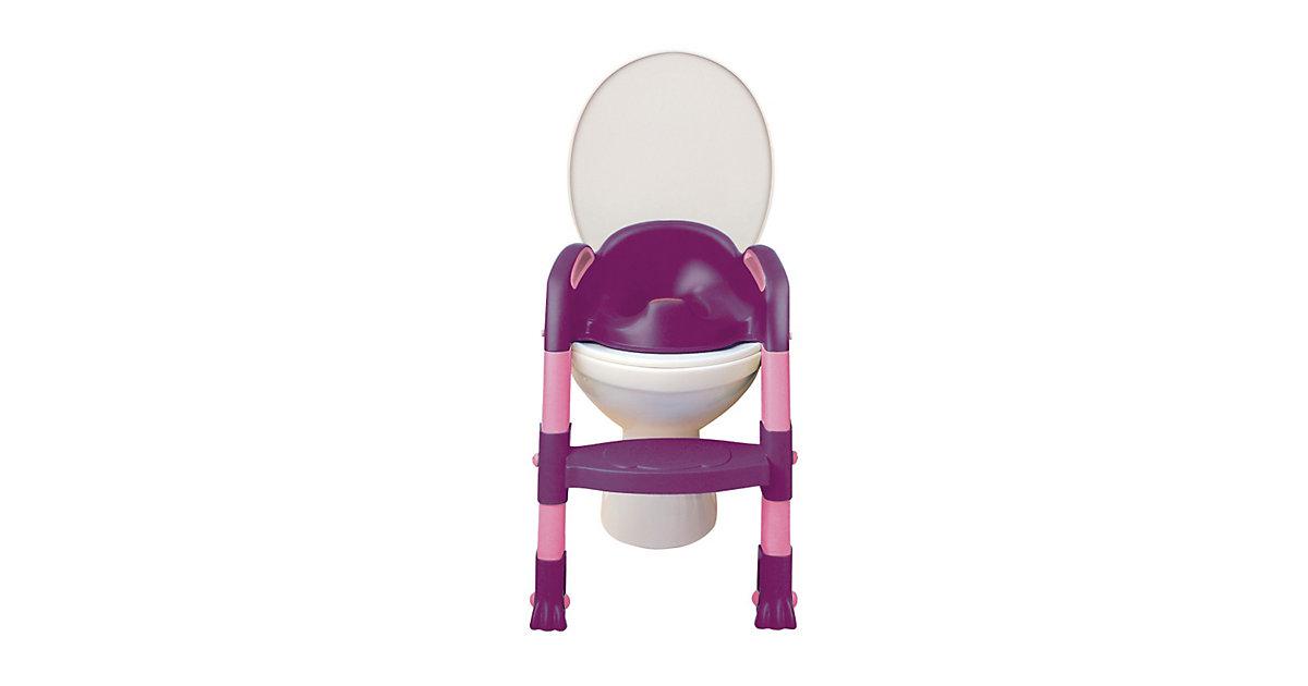 Toilettentrainer Kiddyloo, lila/rosa mehrfarbig