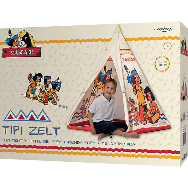 yakari tipi zelt yakari mytoys. Black Bedroom Furniture Sets. Home Design Ideas