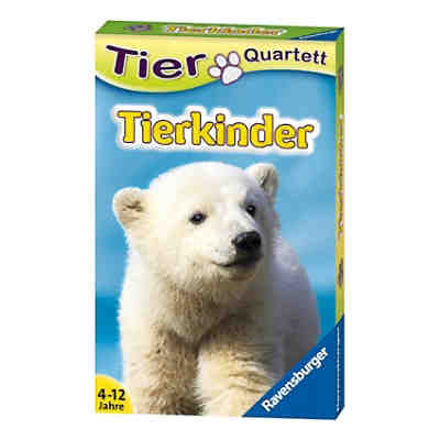 Tier-Quartette: Tierkinder
