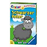 Erster Kartenspaß: Schwarzer Peter Schaf