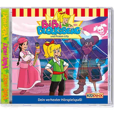CD Bibi Blocksberg 101 - Piraten-Lilly