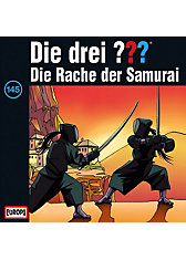 CD Die Drei ??? 145 - Die Rache der Samurai