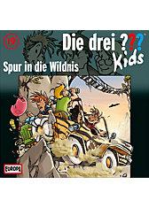 CD Die drei ??? Kids 19 - Spur in die Wildnis