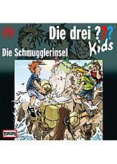 CD Die drei ??? Kids 20 -Die Schmuggler- insel