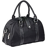 Glam Shoulder Changing Bag, Black