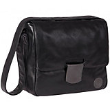Tender Baby-Changing Messenger Bag, Black