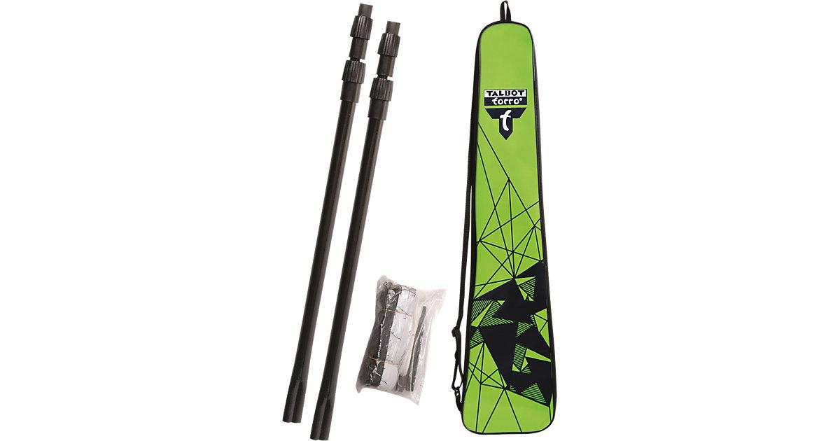 Badminton Netz-Teleskopstangen schwarz