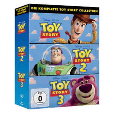 DVD Toy Story 1-3 Pack