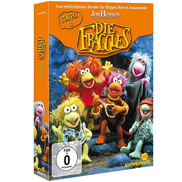 DVD Die Fraggles - Season 2