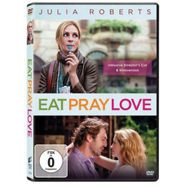 DVD Eat, Pray, Love