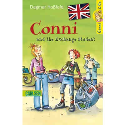 Conni & Co.: Conni and the Exchange Student, englische Ausgabe