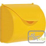 Briefkasten, gelb