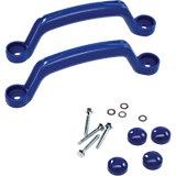 Kunststoffgriffe Set, blau