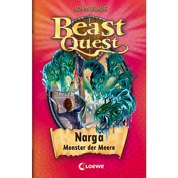 Beast Quest: Narga, Monster der Meere