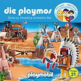 CD Die Playmos 21 - Reise zu Häuptling schlanker Bär