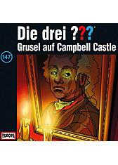CD Die Drei ??? 147 - Grusel auf Campbell-Castle