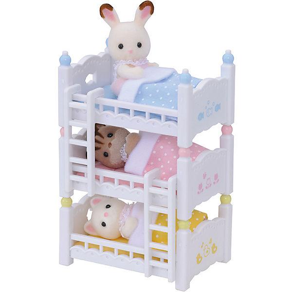 sylvanian families dreist ckiges baby hochbett epoch. Black Bedroom Furniture Sets. Home Design Ideas