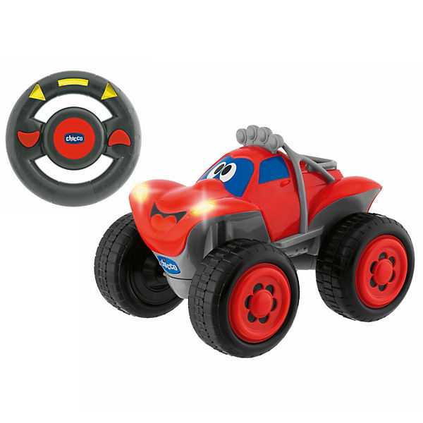 CHICCO R/C Fernlenk-Auto Billy Big Wheels, rot