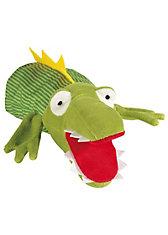 Sigikid 40183 My little Theatre Handpuppe Krokodil, 30 cm