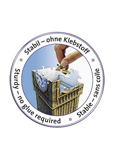 3D Gebäude Puzzle Big Ben - 216 Teile