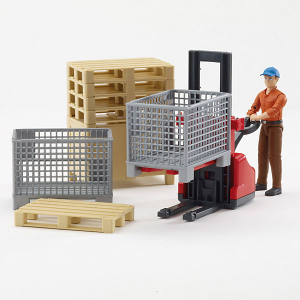 BRUDER 62200 bworld Logistikset 1:16