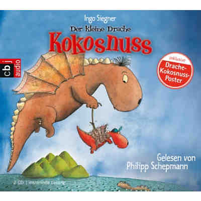 Der kleine Drache Kokosnuss, 2 Audio-CDs
