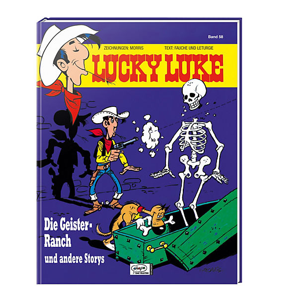 Lucky Luke: Die Geister-Ranch und andere Storys, Band 58