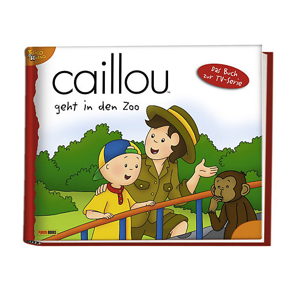 Caillou geht in den Zoo