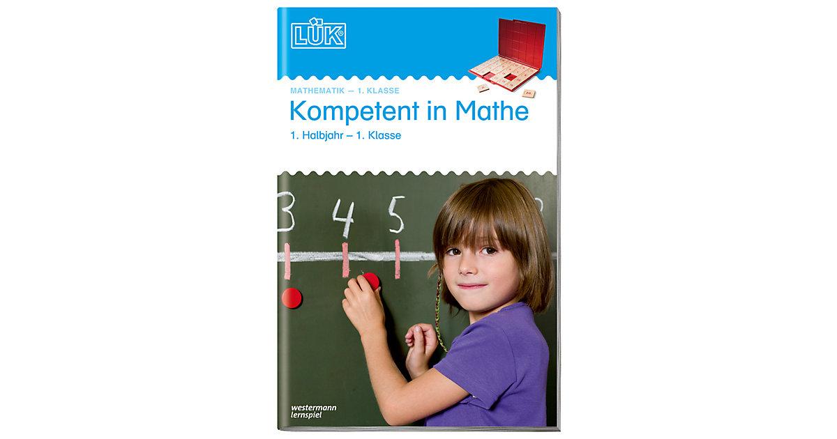 Buch - LÜK: Kompetent in Mathe, 1. Klasse - 1. Halbjahr, Übungsheft