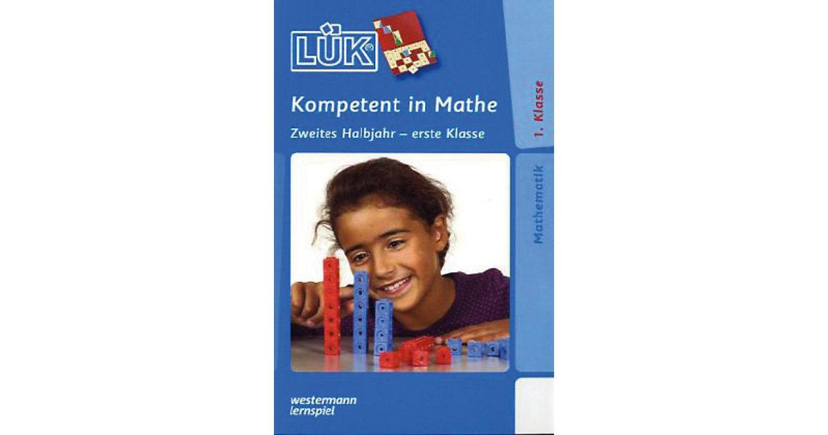 Buch - LÜK: Kompetent in Mathe, 1. Klasse - 2. Halbjahr, Übungsheft