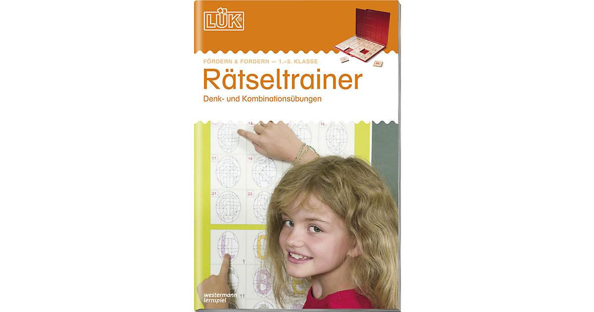 Buch - LÜK: Rätseltrainer 1. bis 3. Klasse, Übungsheft