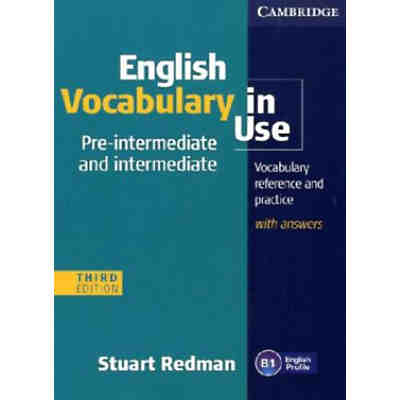 English Vocabulary in Use, Pre-intermediate & intermediate, Third edition: Edition with answers