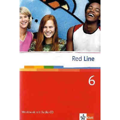 Red Line: Klasse 10, Workbook m. Audio-CD