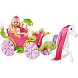"""Кукла """"Еви в карете и лошадь"""", 12 см, Simba"""