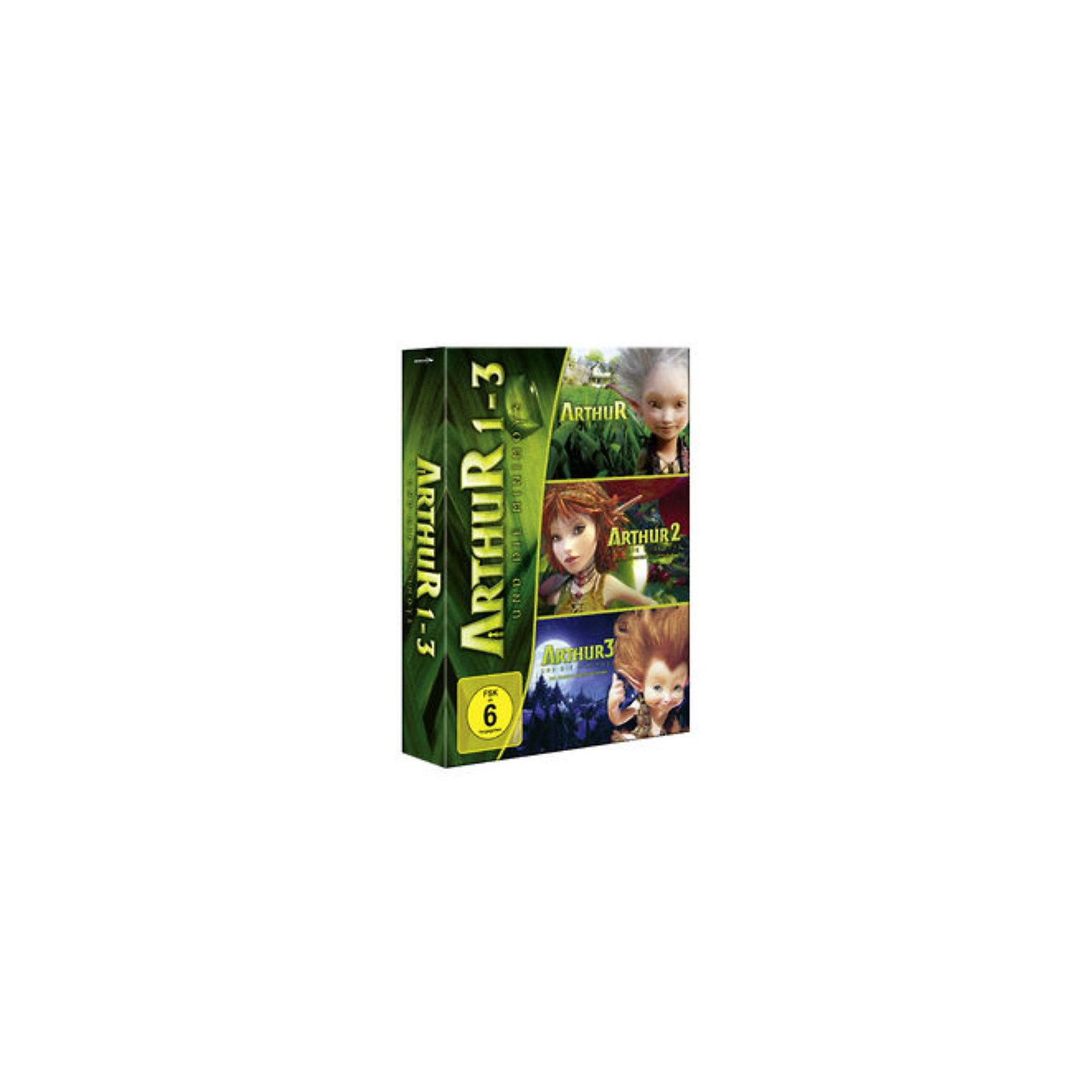 DVD Arthur und die Minimoys 1-3 - Trilogie
