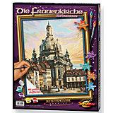 Malen nach Zahlen - Die Frauenkirche zu Dresden