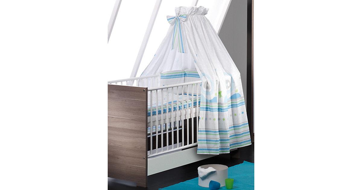 Kinderbett ECO WILDEICHE, Wildeiche/weiß, 70 x 140 cm braun