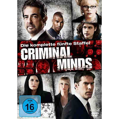 DVD Criminal Minds - Season 5