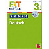 Fit für die Schule: Tests mit Lernzielkontrolle - Deutsch 3. Klasse